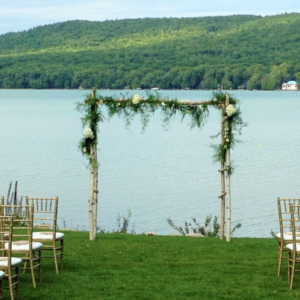 glen lake ceremony by 307 events