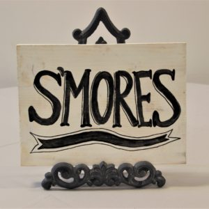 Wooden Smores Sign