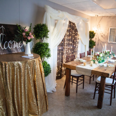 Romantic Dining Set-up at 307 Events Studio