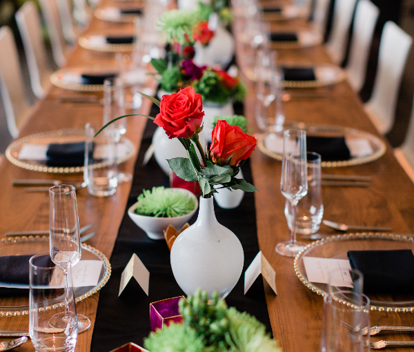 Social Event Design and Tablescape by 307 Events