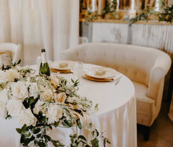 Wedding Couch and Event Design by 307 Events