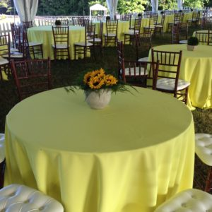 Happy Yellow Tablescape