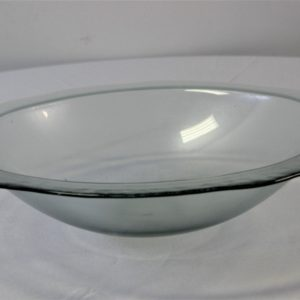 Glass Bowl with Rim