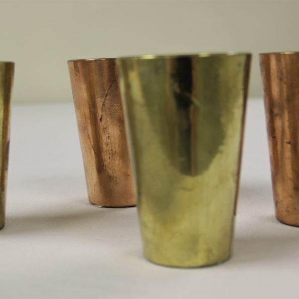 Gold and Bronze Tealight Holders