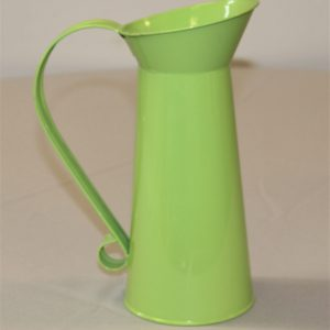 Lime Green Watering Can Flower Vase