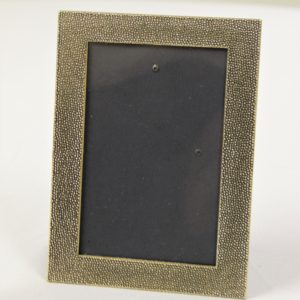 Pebbled Looking Gold or Bronze Frame