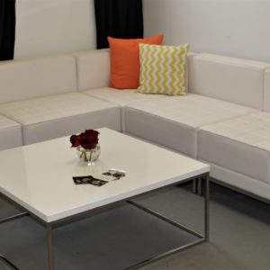 White Cocktail Lounge Furniture