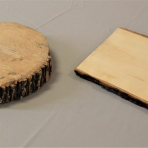Wood Slab Round & Rectangle
