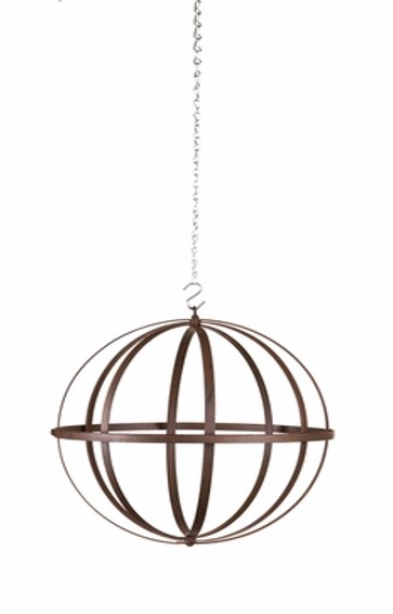 Wrought Iron Sphere 12 inch