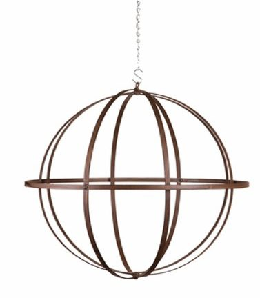 Wrought Iron Sphere 18 inch