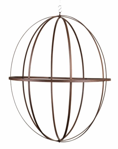 Wrought iron Sphere 24 inch