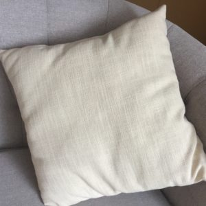 Ivory Throw Pillow