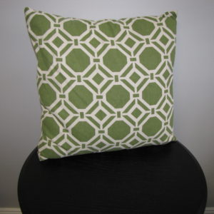 Pillow with Green Pattern