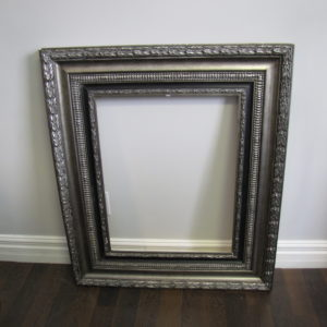 Large Silver Antique Frame
