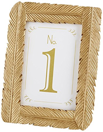 Gold Feather Frame