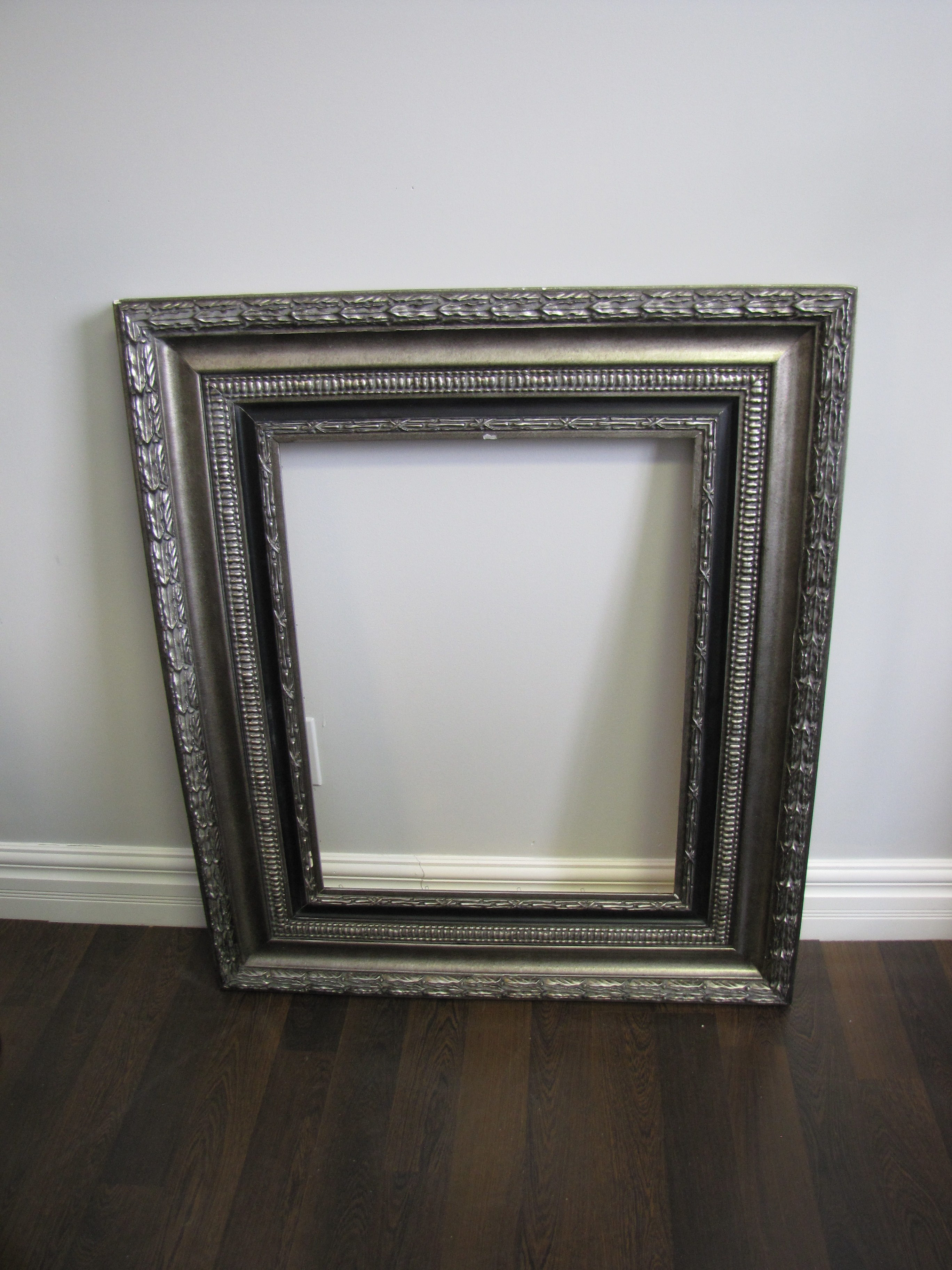 Decor 307 Events And Tents Large Silver Antique Frame